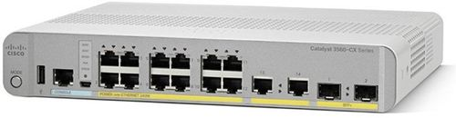 CISCO CATALYST 3560-CX 12 PORT POE IP BASE              IN CPNT (WS-C3560CX-12PC-S)
