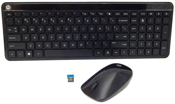 HP Keyboard Mouse ( (Uk)) (801523-031)