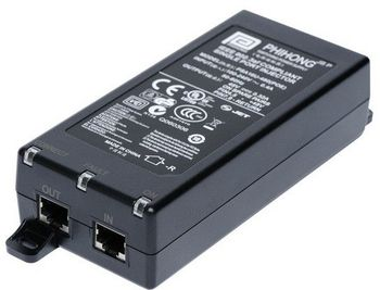 2N PoE injector PSA16U-480(POE),  1port 15.4W AC/DC - with EU (91378100E)
