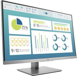 HP EliteDisplay E273 27inch IPS LED Backlight 5ms 16:9 250cd/m2 1920x1080 VGA DP HDMI Pivot height-adjustable (1FH50AA#ABB)