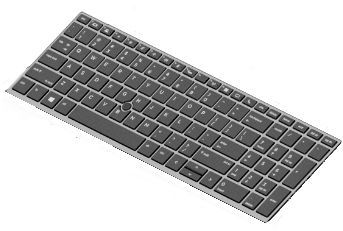 HP Keyboard W/o Backlight NL (L14367-B31)