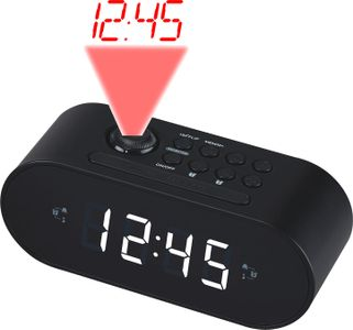 DENVER Projection clockradio 2 alarm (CRP-717BLACK)