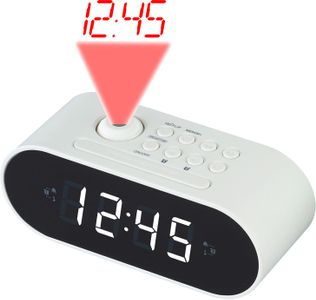 DENVER Projection clockradio 2 alarm (CRP-717WHITE)