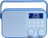 "DENVER DAB+/FM radio 2.8"" LCD display (DAB-39BLUE)"