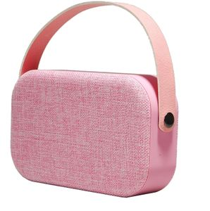 DENVER Bluetooth speaker w/ carrystrap (BTS-63PINK)