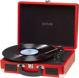 DENVER USB turntable with PC sw (VPL-120RED)