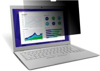 """3M Touch Privacy Filter Laptop For Laptop 12.3"""" 3:2 (PF123C3E)"""