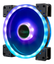 AKASA Vegas TLY 140mm RGB Fan, 1200rpm, Supports 12V RGB LED Pen Head,