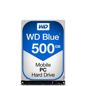 WESTERN DIGITAL HDD Mob Blue 500GB 2.5 SATA 3Gbs 16MB (WD5000LPCX)