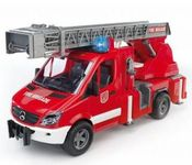 BRUDER MB Sprinter fire engine with ladder, waterpump and L & S Module