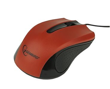 GEMBIRD USB Optical mouse,Red (MUS-101-R)