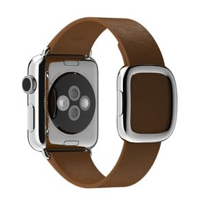 APPLE Watch 38 mm modernes Armband small braun (MJ542ZM/A)