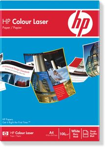 HP Color laserpapir,  100 g/m², 500 ark/ A4/ 210 x 297 mm (CHP350)