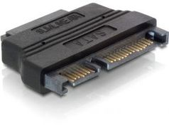 DELOCK adapteri SATA+virta (7+15-pin) > Slimline SATA+virta(7+6-pin)