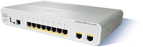 CISCO CATALYST 2960C PD PSE SWITCH 8 (WS-C2960CPD-8PT-L)