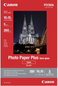 CANON Semi-Gloss 10x15 (5 sheets) (1686B072)
