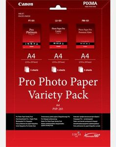 CANON PHOTO PAPER VARIETY PACK PVP-201 PRO A4 / NON-BLISTERED SUPL (6211B021)