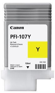 CANON PFI-107Y yellow ink (6708B001)