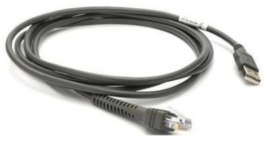 ZEBRA Cable - Shielded Usb Series A Connec 9Ft (2.8M), Straight Eas (CBA-U26-S09EAR)
