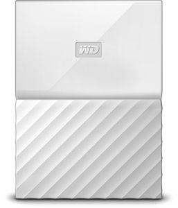 WESTERN DIGITAL My Passport 1TB portable HDD White (WDBYNN0010BWT-WESN)