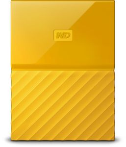 WESTERN DIGITAL My Passport 1TB portable HDD Yellow (WDBYNN0010BYL-WESN)