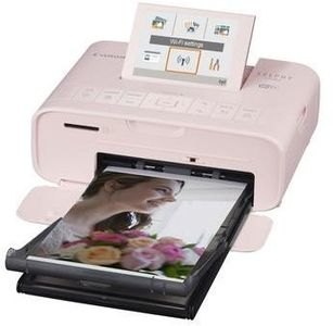 CANON SELPHY CP1300 pink Photo printer Display 8,1cm 3,2inch Wi-Fi Printing Airprint Memory Card Slots USB (2236C002)