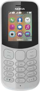 NOKIA 130 Grey Phone F-FEEDS (A00028636)