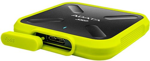 A-DATA SD700 1TB USB3.1 External SSD Yellow (ASD700-1TU31-CYL)