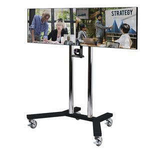 B-TECH Twin Screen VC Trolley (BT8510/BC)