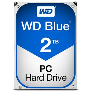 WESTERN DIGITAL HDD Desk Blue 2TB 3.5 SATA 64Gbs 3.5MB (WD20EZRZ)
