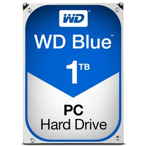 WESTERN DIGITAL HDD Desk Blue 1TB 3.5 SATA 64Gbs 3.5MB (WD10EZRZ)