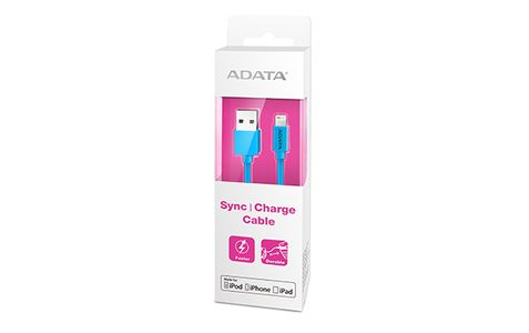 A-DATA Lightning & Sync Cable Blue (AMFIPL-100CM-CBL)