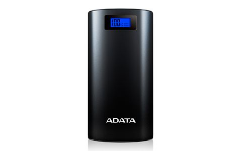 A-DATA ADATA P20000D Power Bank, 20000mAh, LED flashlight,  black (AP20000D-DGT-5V-CBK)