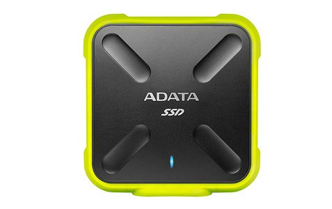 A-DATA 256GB SD700 SSD, Yellow (ASD700-256GU3-CYL)