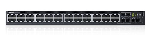 DELL NETWORKING S3148 L3 48X 1GBE 2XCOMBO 2X 10GBE SFP+ FXD PRTS   IN CPNT (210-AIMR)