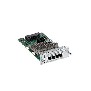 CISCO 4 Port Network Interface Module FXS FXS E and DID (NIM-4FXSP)