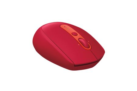 LOGITECH M590 Silent Wireless Mouse, Red (910-005199)