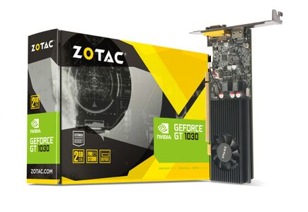 ZOTAC GT 1030 2GB GDDR5 LP LOW PROFINE                      IN CPNT (ZT-P10300E-10L)
