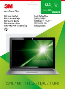 3M Anti-Glare Filter for 13.3i Widescreen Laptop (AG133W9B)