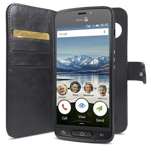 DORO Wallet Case 8040 Black (7330)