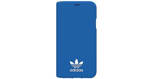 ADIDAS Originals Booklet iPhone X Book Case Blauw/Wit (29196)