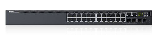 DELL NETWORKING S3124P L3 POE+ 24X 1GBE 2X COMBO 2X 10GBE SFP+  IN CPNT (210-AIMO)