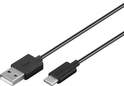 GOOBAY USB-C Charging and sync Cable 1m Black - su Factory Sealed (45735)