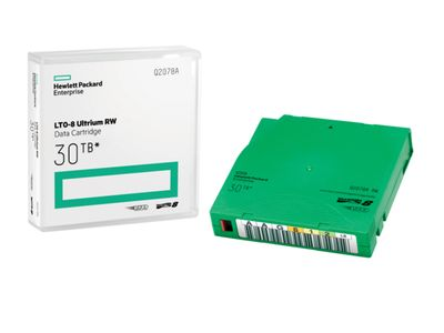 Hewlett Packard Enterprise HPE Data Cart/ LTO-8 Ultrium 30TB RW (Q2078A)