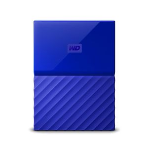 WESTERN DIGITAL HDD EXT My Passport 2TB Blue 7mm SLIM (WDBS4B0020BBL-EEEX)