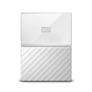 WESTERN DIGITAL HDD EXT My Passport 2TB White Worldwide (WDBS4B0020BWT-WESN)