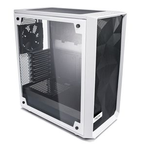 FRACTAL DESIGN Kab FD Meshify C - White - Tempered Glass (FD-CA-MESH-C-WT-TGC)
