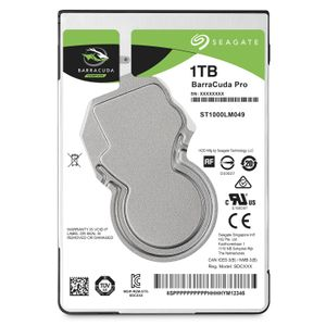 SEAGATE HDD int. 2,5 1TB Barracuda (ST1000LM049)
