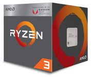AMD RYZEN 3 2200G 3.7 GHZ 65W SKT AM4 6MB VEGA PIB IN (YD2200C5FBBOX)