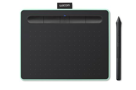 WACOM Intuos Green Pen Tablet Bluetooth Small (CTL-4100WLE-N)